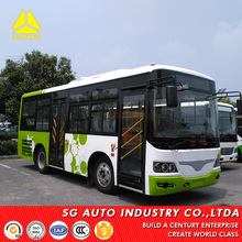 China city bus new 36 seater 7.7m mini used luxury bus