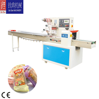 flat breads packing equipment meat wrapping machines with tray