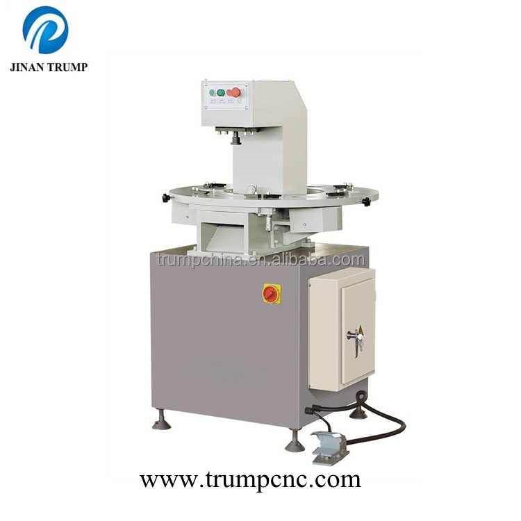 Aluminum profile hydraulic punching machine with six dies
