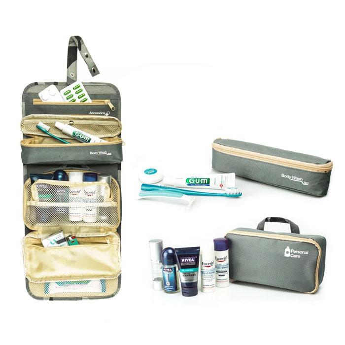 Expandable professional beauty box makeup vanity case