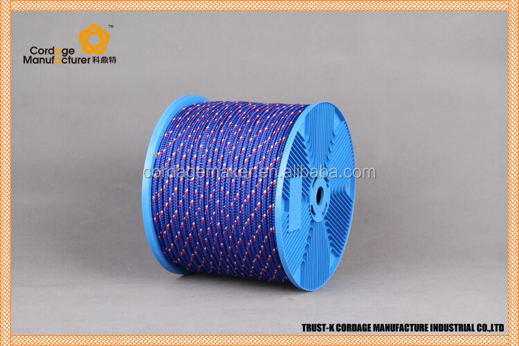 "PP multifilament diamond braided rope/3/8"" ropes"