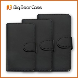 Hot book style leather case for mobile phone