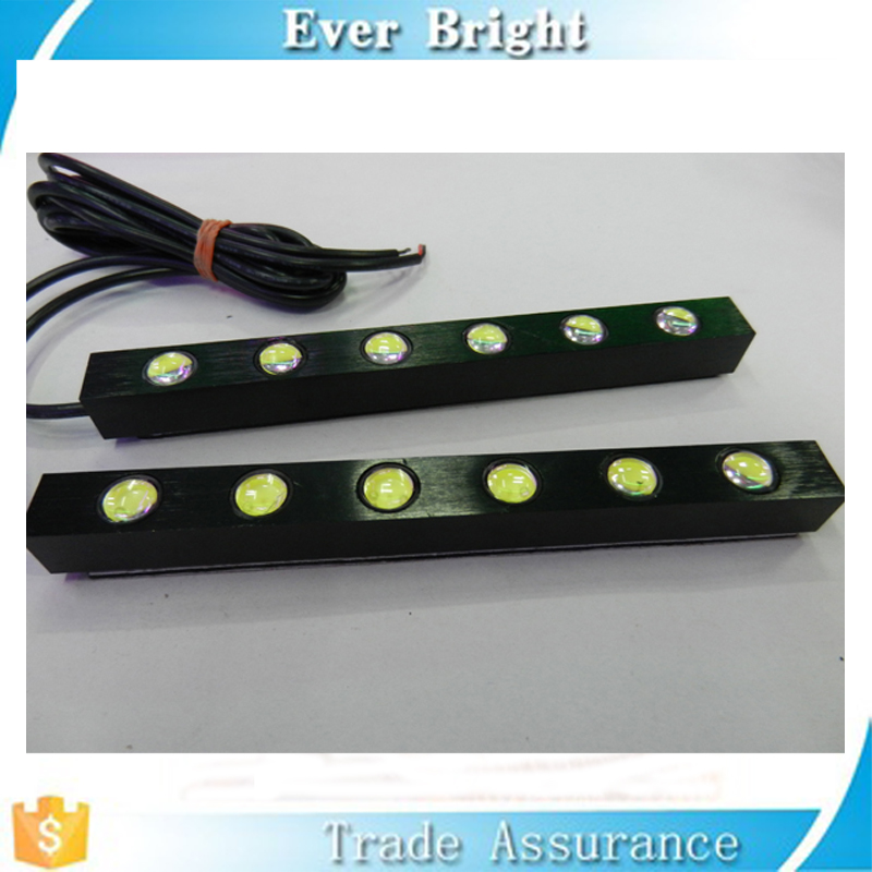 Best Selling super bright Daytime Running Lights LED 6 leds eagle eye diy cob led drl