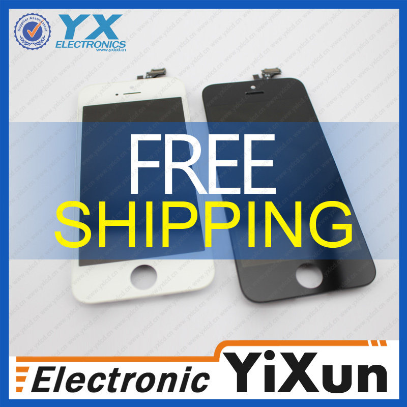 For apple iphone 5 front glass & digitizer repair,china,alibaba