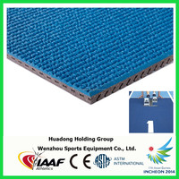IAAF synthetic rubber running track material for track and field, rc track materials
