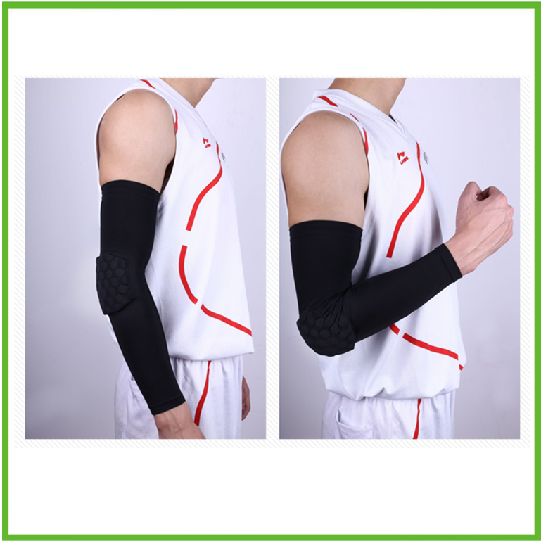 Football & Basketball Honeycomb Crashproof arm Elbow Sleeve
