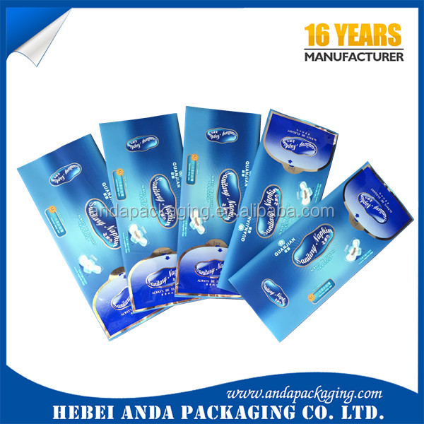 Aluminum foil wet wipe packaging material/plastic bag wrap film for wet wipe /Baby Wet Wipes Packaging Bag Material