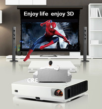 LED mini portable 3D laser projector with HDMI 1080P HD portable proyectores home theater projetor TV VGA Video mini projector
