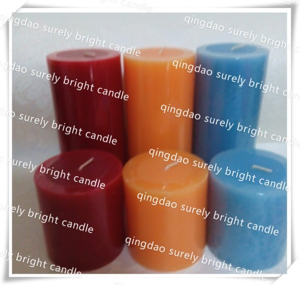 Factory Low Price Candle/sexy body massage spa candle /Pillar Candle