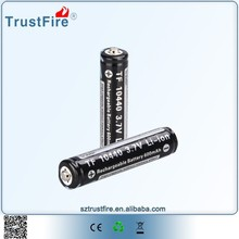 trustfire 3.7v rechargeable aaa 10440 li-ion battery cell
