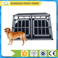 Stainless Steel Aluminum Dog Cage