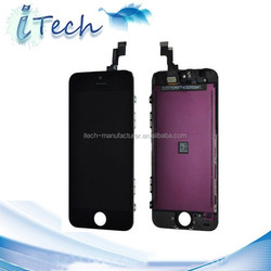 hot sales the best quality replacement digitizer lcd touch screen for iphone 5
