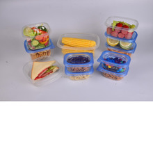 New Design Disposable food storage container take away salad bowl plastic lunch box