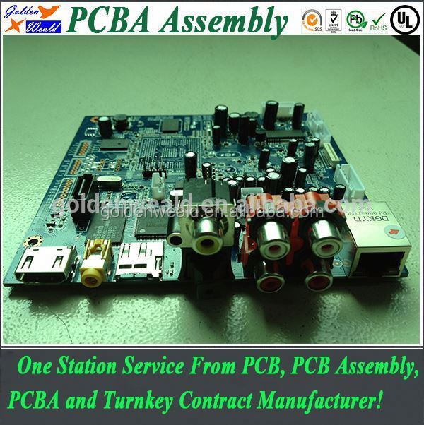 PCB cloning PCB copy PCB assembly manufacturing gps tracker pcba