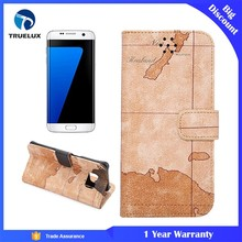 Wholesale New Luxury Ultra Thin Slim Retro Soft PU Leather Back Cover Case For Samsung Galaxy S7 Edge S6 Note 4