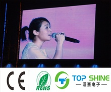 10mm pixels and Full color Tube Chip smd p10 led module LED TV Advertising screen display IP65