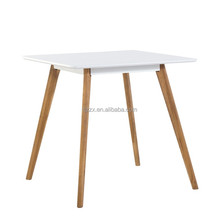 modern MDF plastic dining table restaurant table