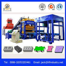 QT5-15 Fully Automated Concrete Block/Bricks Production Line made in china