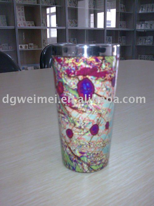 fashion water transfer printing on metal product
