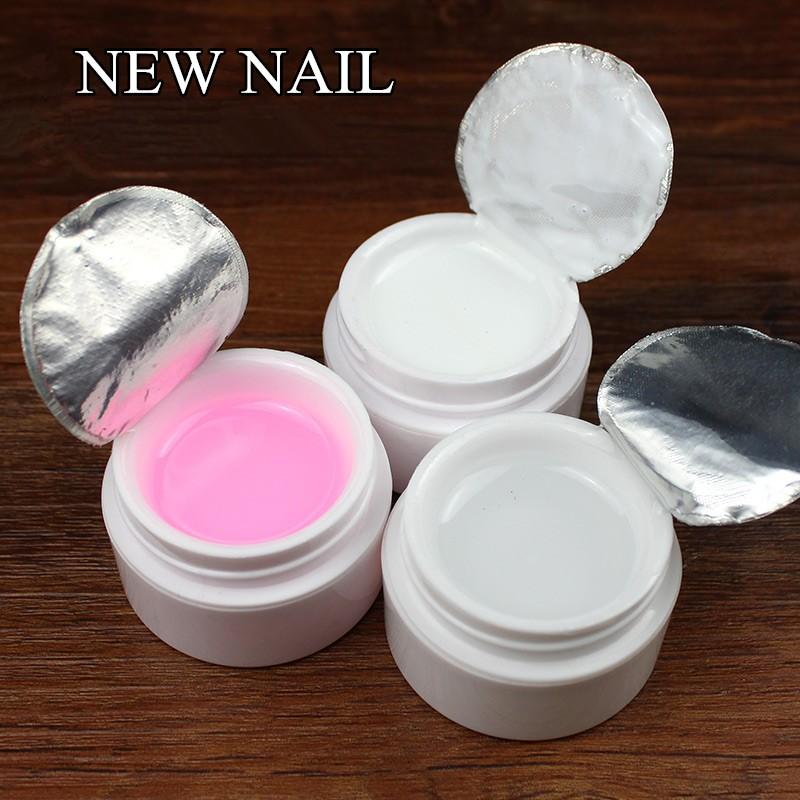 New nails long lasting uv led 3 colors ibd uv builder <strong>gel</strong> for nail extension