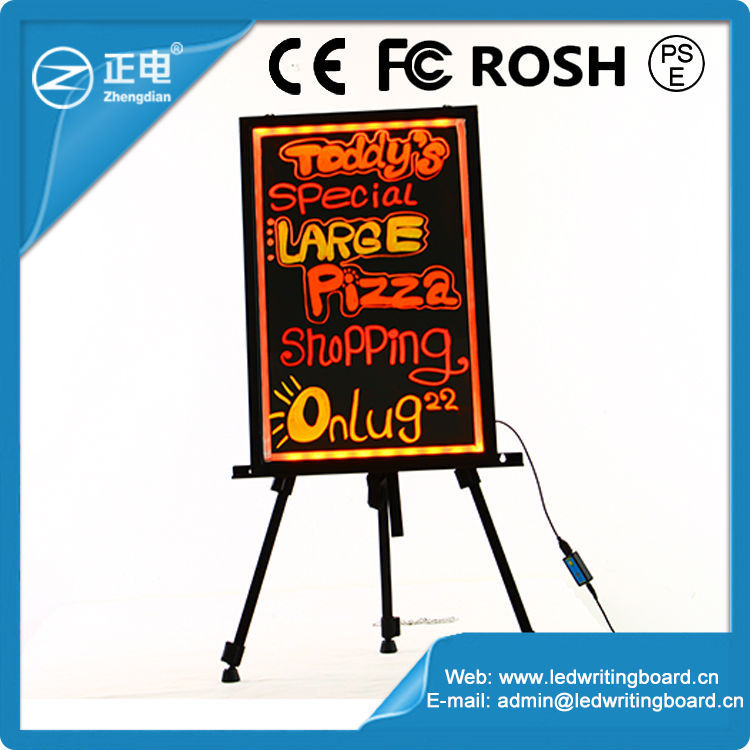 Portable table top led writing board electronics inventions outdoor led message board signs electronics inventions