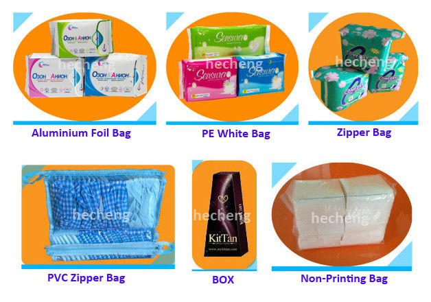Disposable Super Absorbent Cotton Sanitary Napkin for Women