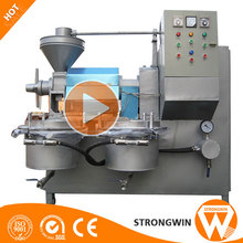 2017 new Henan Strongwin sesame oil making machine price and capacity