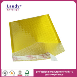 Heavy Duty Protective Golden Air Bubble Film Bag