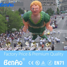 AO560 Giant inflatable girl,flying lady / inflatable cartoon for advertising