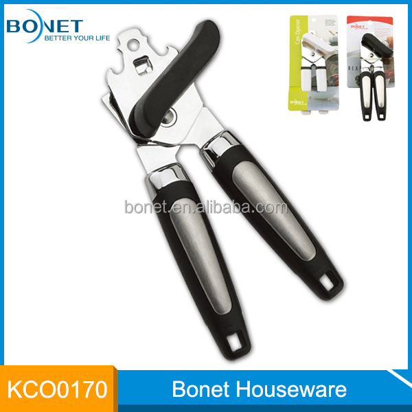 2015 new style Kitchen Gadget home use stainless steel manual can opener
