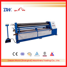 Shuangli high quality iron rolling forming machine ,3 rolls small sheet roller bending machine for sale
