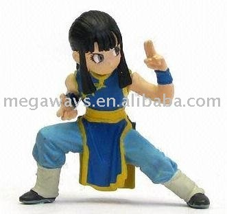 handmade kongfu polyresin figure for decoration