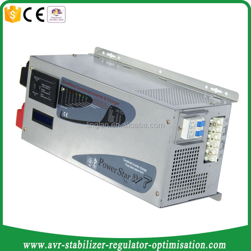 pure sine wave on-grid and off-grid dc ac solar inverter 3000w