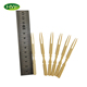 Eco-Friendly Flat Disposable Bamboo Fruit Fork Set