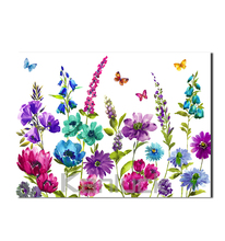 Modern Beautiful Flower Wall Art / Home Decor Canvas Painting