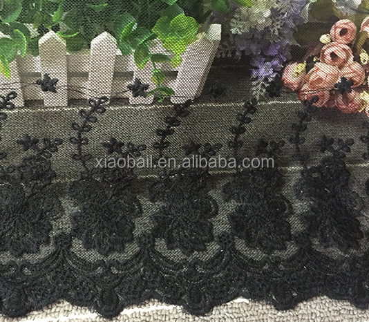 Pastoral style baby dress lace fabric/lace fabric for curtains