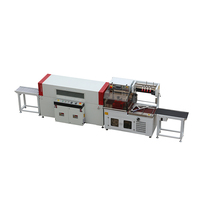 Automatic cake box shrink wrapping packing machine