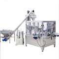 Cinnamon powder rotary filling and packing machine