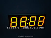 seven segment LED digital display for digital clock