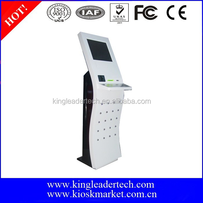 Self-service touch screen information Kiosk from China Kiosk Manufacturer