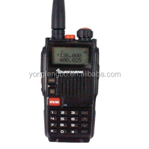 QuanSheng TG-K4AT Dual Band two-way Radio 5W 128CH VOX CTCSS/DCS FM transceiver