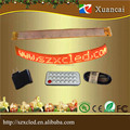 P3.25-7x80 IR remote Red flexible Color programmable moving message belt/watchband/bottle ring_ LED sign