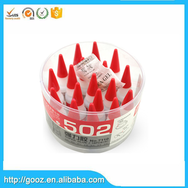 Wholesale Super Strong Plastic 502 Adhesive Super Glue 3 Seconds
