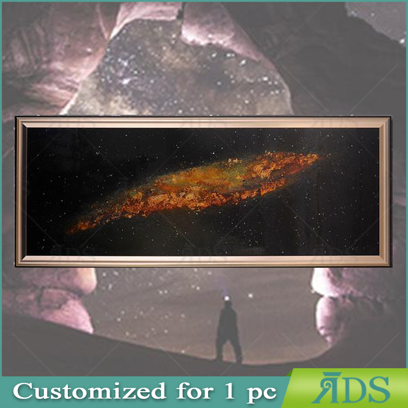 Framed Handmade Oil painting lacquer wall art