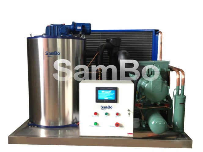 Professional CE approval fishing trawlers for sale / Salt Water Flake Ice Machine For Fishing Boat