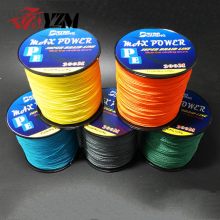 Japanese Fluorocarbon Single Color 300m 4 Braided PE Fishing Line