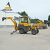Chinese manufacturer compact loader tractor backhoe with CE