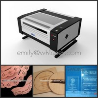 130W leather fabric co2 laser cutter machines for small business hot sale with Alibaba Trade Assurance