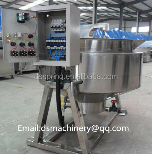 stainless steel jacket kettle for cooked spicy beef