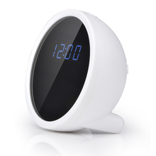 Best selling battery operated wireless backup camera Wifi Desk clock Radio Hidden Camera Motion Activated Security Camera